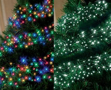 chasing led cluster lights lighting tree