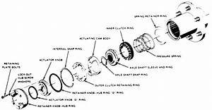 Warn Hub Exploded Diagram