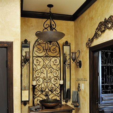 wrought iron hanging ls more wrought iron wall decor mediterranean style