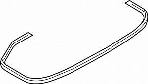2015 Mazda Mx 5 Miata Deck Lid Seal W O Retractable Hard Top Weatherstrip Wiring Diagram