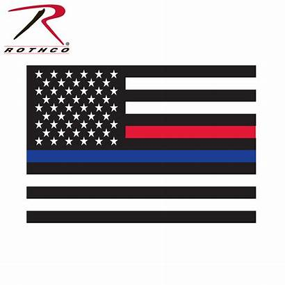 Thin Line Flag Decal Rothco Law American
