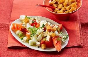 Melone Mit Schafskäse : tomatensalat mit honigmelone und schafsk se leckere salate ~ Watch28wear.com Haus und Dekorationen