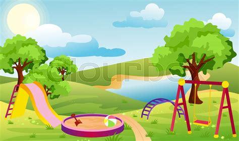 Vector illustration of kids ... | Stock vector | Colourbox