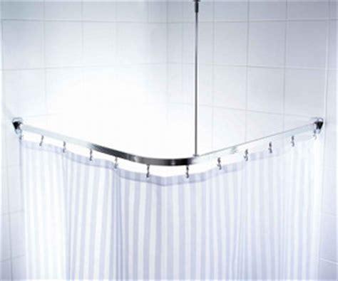 Duschvorhang Für Eckdusche by Duschvorhang Um Ecke Wohn Design