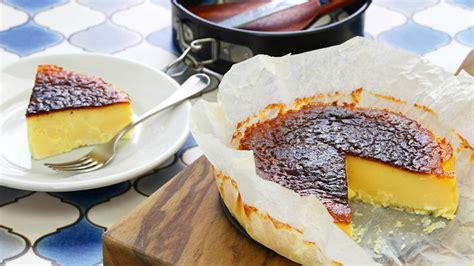 la vinas burnt basque cheesecake   dessert