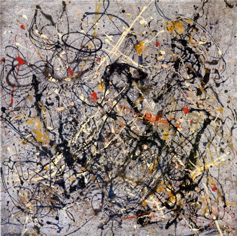 jackson pollock number 18 1950 painting number 18 1950