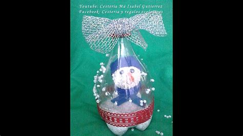 adornos navide 241 os con botellas de pl 225 stico diy christmas decorations from plastic bottles