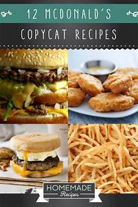 12 McDonald's Copycat Recipes You Need Right Now | Copycat ...