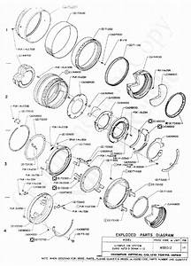 Olympus 50mm F1 2 Exploded Parts Diagram Service Manual