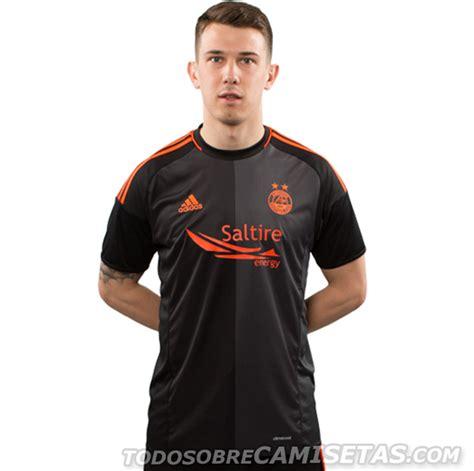 Aberdeen FC adidas 2016-17 Away Kit - Todo Sobre Camisetas