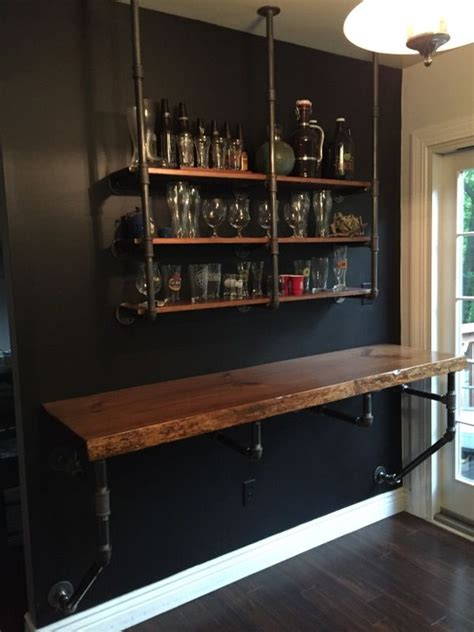 Bar Wall Shelves by 25 Best Ideas About Wall Bar On Wine Rack