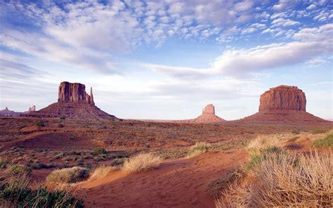 summer scene   wild west desert area monument
