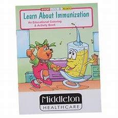 4imprintcom Learn About Immunization Coloring Book 1034im