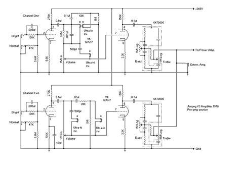 Tube Preamp Tone Control Problem Diyaudio