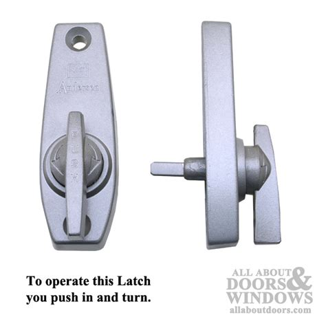 andersen push turn style thumb latch for a 3 panel