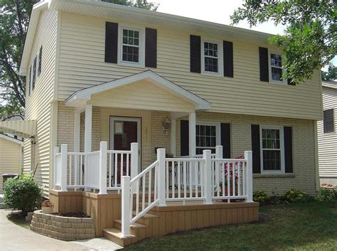 Front Porch Deck 5 ways to improve your home s curb appeal by archadeck