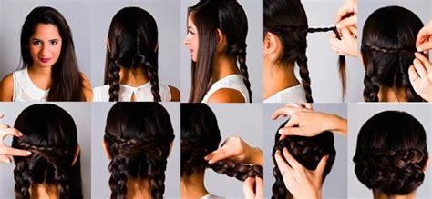 simple hair styles 30 best moda y estilo images on hair makeup 8557
