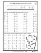 Equivalent Fractions Worksheet Grade 4 Math Fraction Worksheets On Pinterest Grade 4 Fractions Worksheet