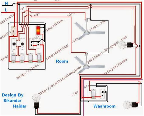 how to wire a room in house electrical online 4u wire a room and washroom in home wiring electrical online 4u