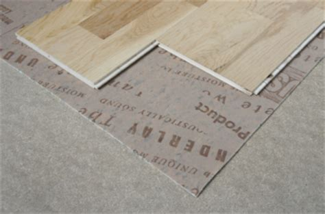 What underlay should I use for my wooden floor?   The Wood