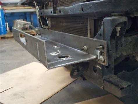 tacoma winch mount   road mods pinterest