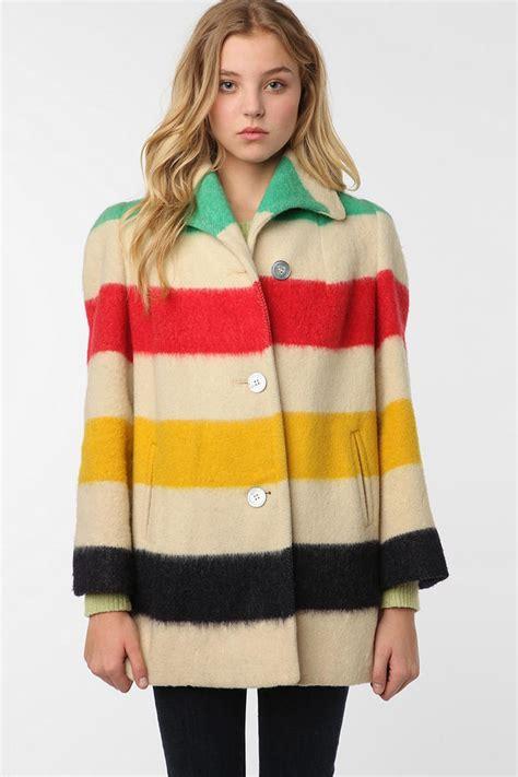 hudson bay blanket jacket vintage hudson bay blanket jacket explore the us in a
