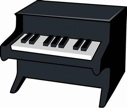Piano Clip Vector Illustration Miniature Musical Clipart