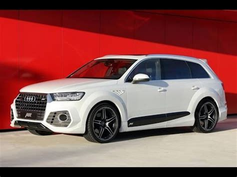 """abt Qs7"" Custom ""audi Q7 Ii"" By 2016 Abt Sportsline Youtube"