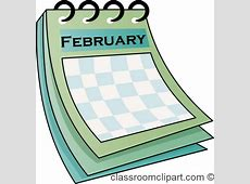 Calendar Clipart february_calendar_712 Classroom Clipart