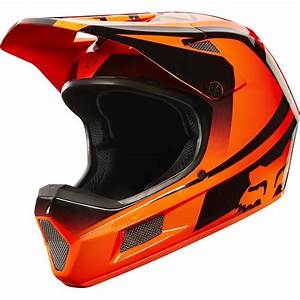 Fox Rampage Comp Imperial Mtb Full Face Helmet 2016 Flo Orange
