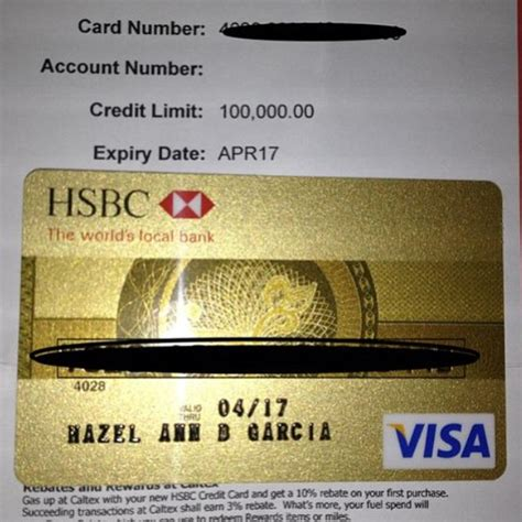 Some cards limit how much you can charge per day, even if you have sufficient remaining credit. My First Ever Regular Credit Card: HSBC Gold Visa ~ MASTERING CREDITS
