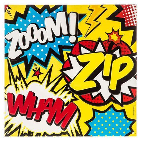 wham zip comic book zoom zip wham words embossed tin sign open