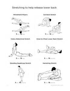 Stretch Lower Back Pain Relief Exercises
