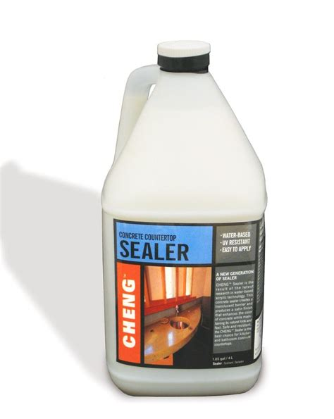 sealer for concrete countertops 1000 ideas about concrete countertop sealer on