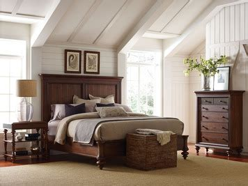 cascade queen panel bed  broyhill home gallery stores