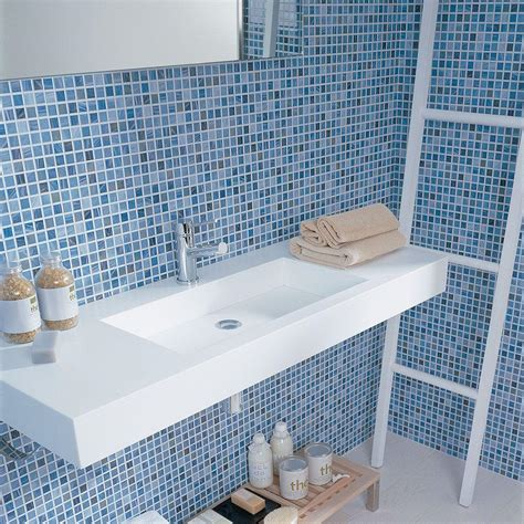 bathroom with mosaic tiles ideas 30 stunning pictures of glass mosaic tile for bathroom walls