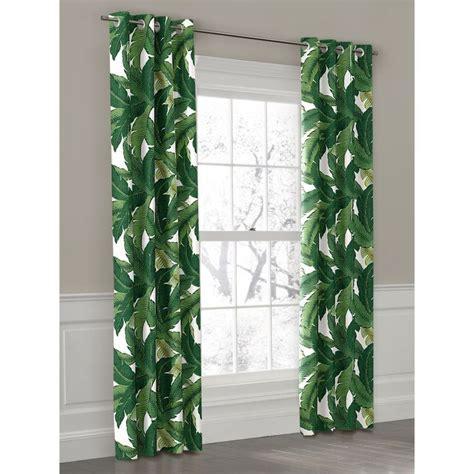 Hawaiian Curtains Drapes - best 25 tropical curtains ideas on leaf