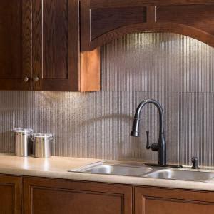 wall panel kitchen backsplash fasade 24 in x 18 in rib pvc decorative backsplash panel 6957