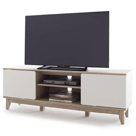 white tv stand with storage callista wooden tv stand in oak and matt white with storage 1880