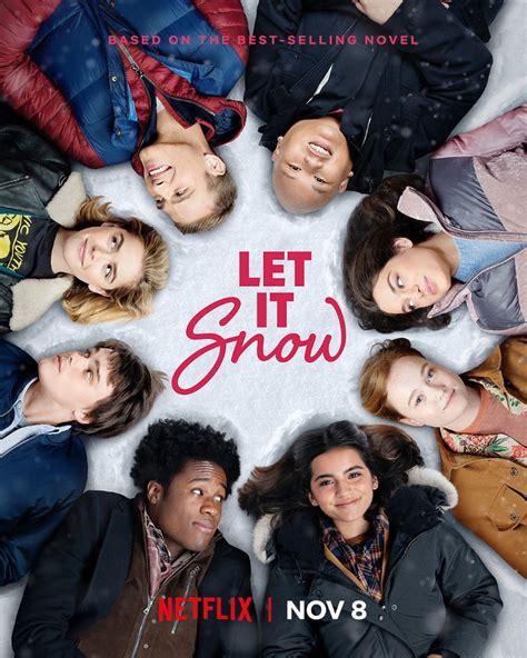 snow let poster netflix cast main