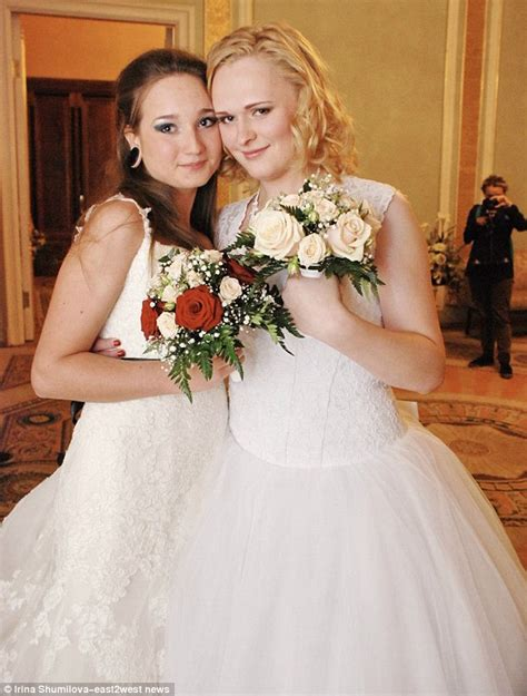 Legal Loophole Allows Russian Lesbian Couple To Marry