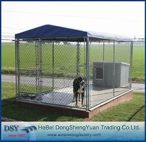 Best price large dog kennel outdoor dog kennelsdirect for Best price outdoor dog kennels