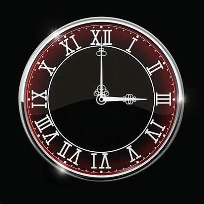 Roman Numeral Vector Clock Clip Illustrations Similar
