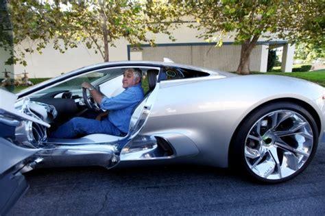 jay leno  jaguar   concept picture