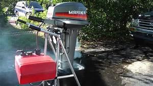 Mariner 15hp Longshaft 2 Stroke Tiller Outboard Motor