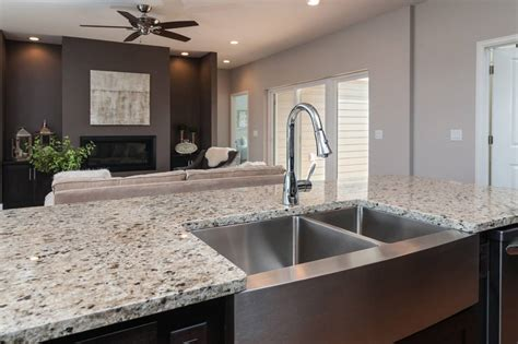 free sink with granite countertop kitchen island with stainless farmhouse sink and crema