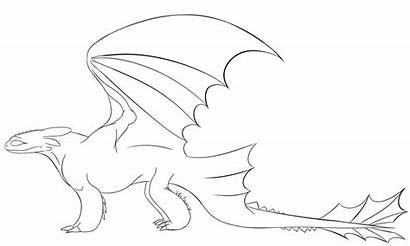 Toothless Fury Night Flying Coloring Bases Template