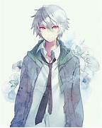 1000  images about Anime Boys with White Hair     on Pinterest  Anime Boys With White Hair And Green Eyes