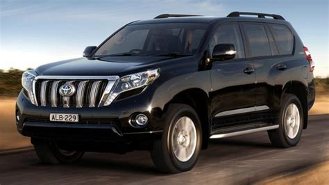 toyota prado arrives redesigned     suv