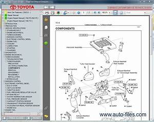Toyota Echo Parts Manual